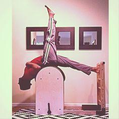 Barrel Rider @PilatesDwell_Canton | High Ladder Barrel: Short Box a Series :: Tree (part 2) #stretchandstrengthen #hamstrings #spine • #pilates #pilatesstudio #pilatesinstructor #pilatesformen #contrology #classicalpilates #calisthenics #gymnastics #fitness #yoga #personaltrainer #menshealth #strengthtraining