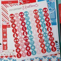 72 small functional circle stickers. JLynnPaperCo.etsy.com #stickers #plannerstickers #planner #erincondren #erincondrenlifeplanner #eclp #jlynnpaperco #etsy #planneraddict #plannerlove #plannerjunkie #valentines #valentinesday #sale #grandopening #grandopeningsale #etsysale