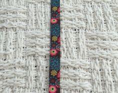 Pinza de chupete flor morada por ZenBabyTeething en Etsy