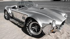 1965 Shelby Cobra 427 Shelby Semi Competition. Body: Polished Aluminum Body Brushed Racing Stripes Frame: Steel Powder Coated
