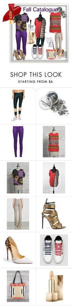 """""""Catalog"""" by funstyles-1 ❤ liked on Polyvore featuring Stone Fox, Balmain, MaxMara, Tom Ford, Christian Louboutin and Burberry"""