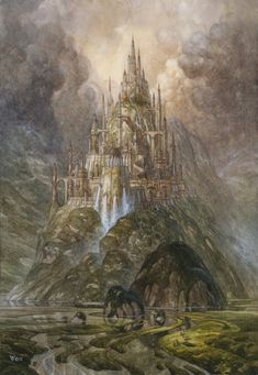 Gondolin Color by chvacher.deviantart.com on @deviantART | Christophe Vacher http://vacher.com/