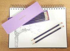 Personalised 12 Purple Pencils In A Purple Box Personalised Childrens Gifts, Favorite Color, Stationery, Pencil, Colours, Purple, Box, Personalized Gifts For Kids, Snare Drum