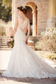 Inspired by vintage dreams, the Fall 2016 Essense of Australia collection beams with stunning gowns for every bride. With illusion lace, heirloom necklines and romantic silhouettes, each style has beautiful and vintage details that are complimented by the modern designs. For the bride looking to a add a little glamour and sparkle to her wedding […]