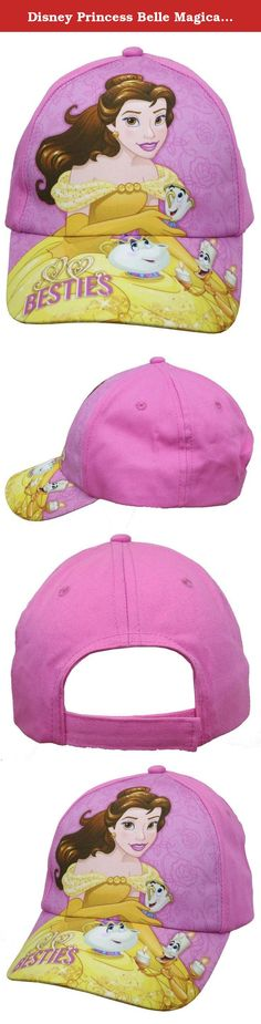 Disney Princess Belle Magical Tea Pink Baseball Cap - Size Girls 4-14 [6014]. Make your Precious Girl fell like a real Belle Princess With this Adorable Lovely Disney Princess Belle Magical Tea Baseball Cap in Pink, Size Girls 4-14, Featuring Belle With Magical Tea Besties Ready to serve, It makes a great Disney Princess Belle costume accessory, or they can wear it on a sunny day to keep the sun out of their eyes. All Kids Will Love it and wear it all day , Also Great Gift for all Girls…
