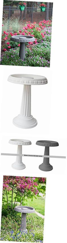 Other Bird Supplies 3211: Bb2-10 Grecian Bird Bath With Pedestal, White -> BUY IT NOW ONLY: $43.2 on eBay!