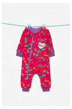 Desigual unisex Langarmbody mit Print  #babymode #babyclothes #babygirl