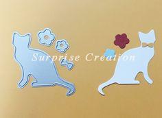 HDD1633 wykrojniki Cat 4 cardmaking, scrapbooking, home deco i więcej w rozmiar: 58x63mm.kolor srebrnyidealne kształtów, aby inspirować swoją kreatywność! dla cardmaking, scrapbooking, home d od Stamps na Aliexpress.com | Grupa Alibaba