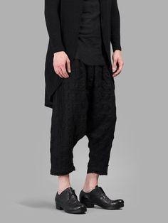 Aleksandr Manamis wool linen mix trousers