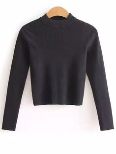 SHARE & Get it FREE | Mock Neck Cropped Pullover SweaterFor Fashion Lovers only:80,000+ Items • New Arrivals Daily Join Zaful: Get YOUR $50 NOW!