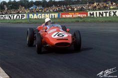 1960 GP Wielkiej Brytanii (Masten Gregory) Cooper T51 - Maserati