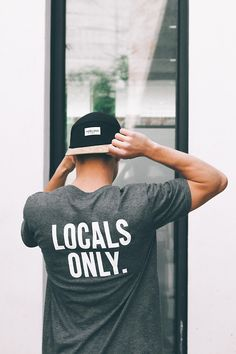 Locals Only.