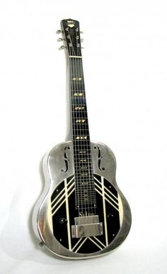 1930s National Silvo lap steel guitar