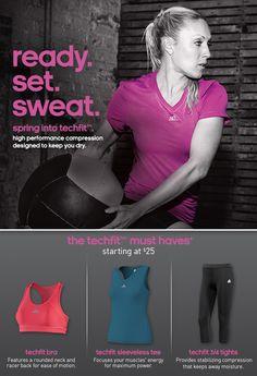 Adidas - Be Techfit! New Training Gear
