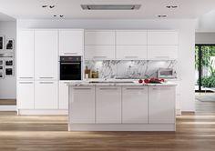 Hameldown White - Gloss Kitchen