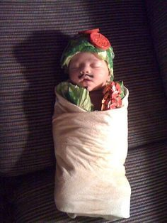 A Baby Burrito | Community Post: 30 Best DIY Kids Halloween Costumes Your Mom Never Made For You