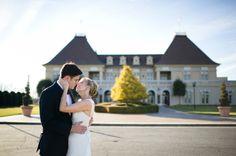Chateau Elan Wedding: Elegant vineyard venue with plenty of indoor ballroom space.