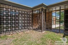 Stunning 1955 midcentury modern house in Fort Worth - built by the Brandt family