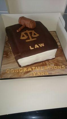 Law book cake Law Books, Cakes, Desserts, Food, Tailgate Desserts, Meal, Cake, Dessert, Eten
