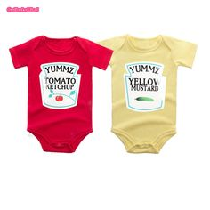 7689ebe69932 46 Best twin onesies catchy text images   Twins, Babies clothes ...