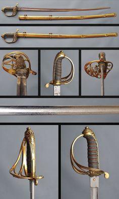 Infantry Officer 1822 Pattern Sword.      . Copyright © 2013 Swords Collection