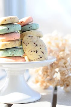 Robins Egg Speckled Easter Cookies - No Cookie Cutters Required!