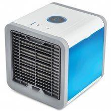 Usb Mini Fan Colorful Lamp Portable Air Conditioner Avec Images Refroidisseur D Air Mini Climatiseur Climatiseur Mobile