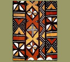 Beating Time with African Prints African Quilts, African Textiles, African Tribal Patterns, African Fabric, Textile Patterns, Textile Art, Art Chicano, African House, Afrique Art