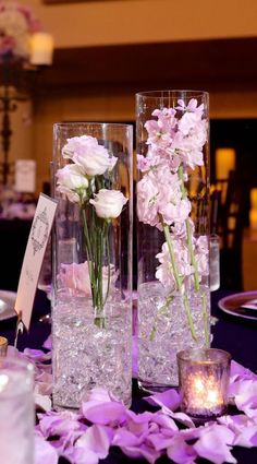 139 Best Purple Centerpieces Images In 2019 Artificial Flowers