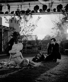 "Stanley Kubrick & Sue Lyon on the set of Lolita (1962, dir. Stanley Kubrick)  ""From the first, she was interesting to watch—even in the way she walked in for her interview, casually sat down, walked out. She was cool and non-giggly. She was enigmatic without being dull. She could keep people guessing about how much Lolita knew about life.""  -Kubrick, 1962"