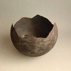 Otto Baier, hand-forged steel bowl