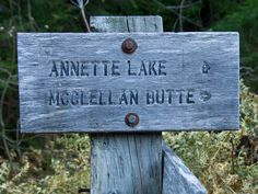 Annette Lake 8 miles 1400 feet Elevation Gain Baby Hiking, Trail Signs, Hiking Trails, Gain