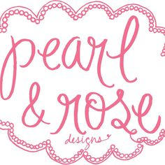 Follow us on Instagram: @pearlandrosedesigns  Like us at facebook.com/PearlAndRoseDesigns  Our shop is still very new, so check back for