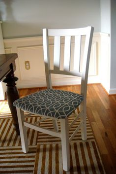 Sweet Magnolia Way: A Dining Chair Makeover
