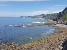 #beautiful #cliff #cliff coast #cliffs #cliffside #coast #coast line #euskadi #flysch rocks #nature #ocean #rock beach #rocks #unique #wave #zumaia