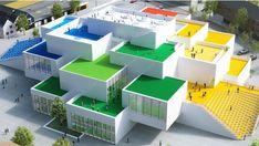 Así es la gigantesca Casa Lego de Dinamarca