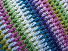 My Rose Valley: Crochet - treble stitch