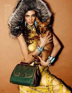 The Aymeline Valada Vogue Japan Shoot Captures Wild Side Fashion trendhunter.com