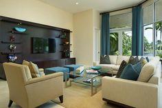 15 Novel Open Concept Living Room Design Ideas