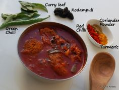 Vegetarian Fish can't wait to try thisss! Roshni's Kitchen: Boatman Fish Curry - Kuttanad Fish Curry - Spicy Fish Curry in a red sauce -