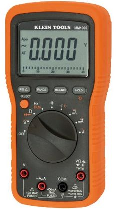 Black Friday 2014 Klein Tools MM1000 Electrician's Multimeter from Klein Tools Cyber Monday