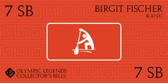 Verdiene einen 20 SB Bonus mit den Swagbucks #Sammelkarten - Olympische Legenden! (August2016) Birgit Fischer für 7 SB