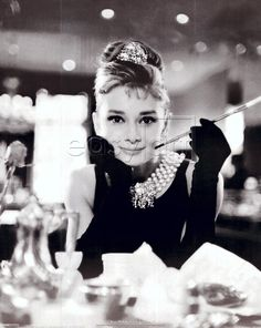 Audrey Hepburn is such an obvious inspiration for my photography: classic, beautiful and sensual