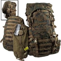 ILBE Main Pack with Assault Pack and Camelbak New