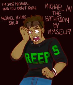 I don't need my heart Theatre Nerds, Musical Theatre, Theater, Mountain Dew Red, George Salazar, Michael In The Bathroom, Be More Chill Musical, Michael Mell, Two Player Games