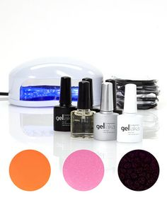 This Blossom GlamNail Gel Polish Set is perfect! #zulilyfinds  $59!