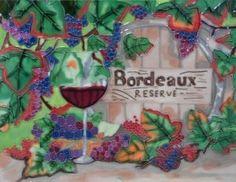 Decorative Wall Tiles, Ceramic Wall Art, Ceramic Decor, Tile Art, Bordeaux, Ceramics, Amazon, Ceramica, Pottery