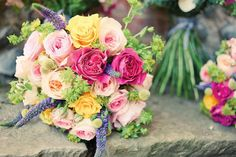 A wonderful DIY wedding bursting with colour from Tabitha and James