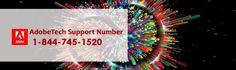 Get best Adobe Tech Support 844-745-1520 Number. http://www.geexsupport.com/adobe-support.html