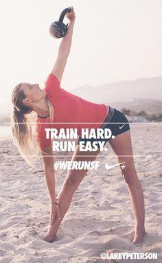 Train hard. Run easy. #werunsf #nike